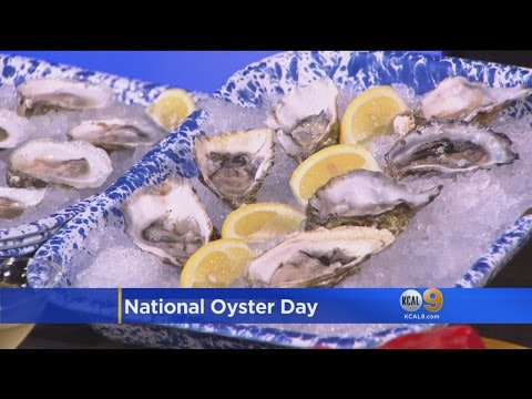 Celebrate National Oyster Day