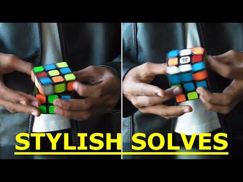 Stylishly Solving a Rubik's Cube