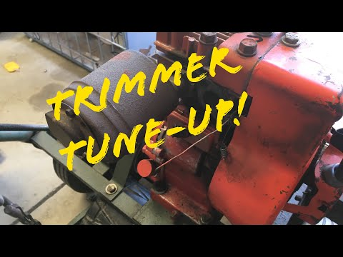 Trimmer Mower Tune-Up