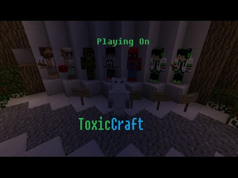 Playing on ToxicCraft with ToxicBoy_PlayzMC (Chance) | Minecraft