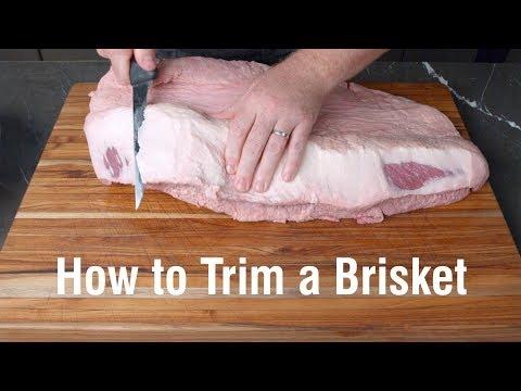 How to Trim a Brisket