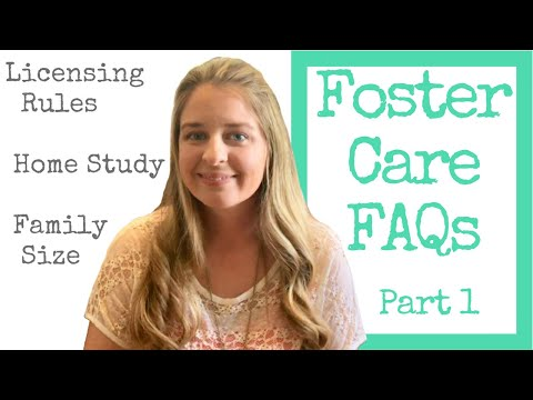 Foster Care FAQs Part 1 Licensing Rules, Home Study, How Many Kids Can You Have, Is It Expensive?