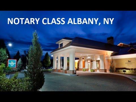 Albany NY Notary Public Class
