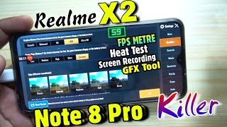 Realme X2 Pubg Test : Redmi Note 8 Pro Killer