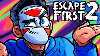 Escape First 2 Funny Moments - Delirious Ruins the WHOLE GAME!