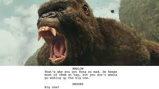 From Script to Screen - Kong: Skull Island - Wanderer Scene