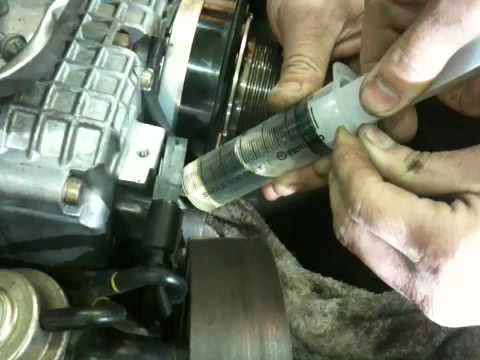 Replacing Supercharger Oil on C32