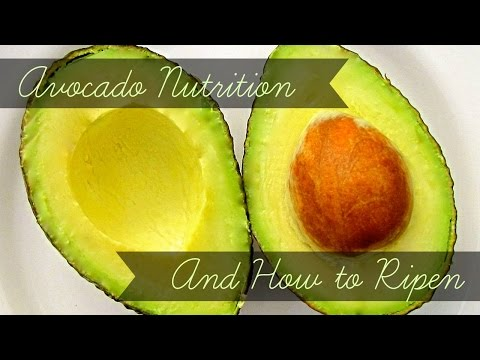 Avocado Nutrition Facts & How to Ripen Avocados