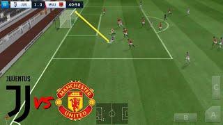 Juventus Vs Manchester United ● Dream League Soccer 2018 Gameplay