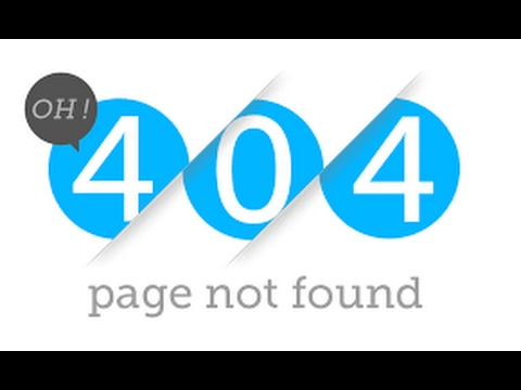 How To Create a Custom 404 error Page in Apache ?