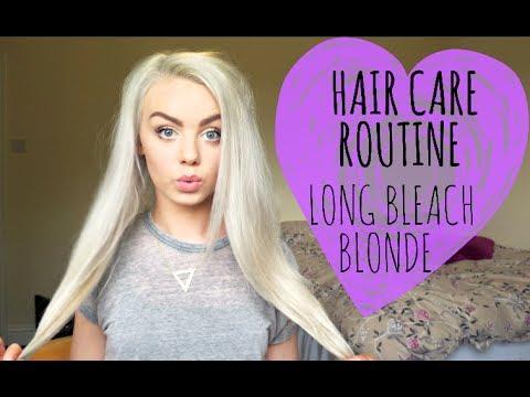 My Hair Care Routine | Long Bleach Blonde Hair