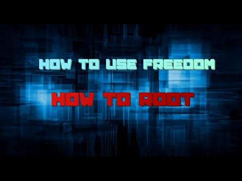 How to use freedom+how to root