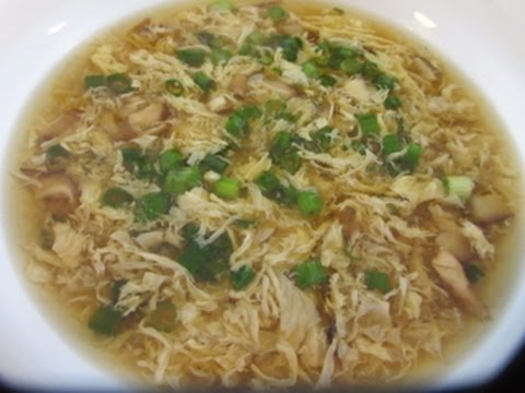 EGG DROP SOUP | CHINESE RESTAURANT STYLE | How to make recipe
