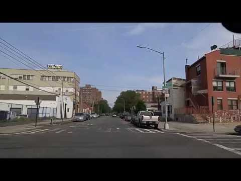 Driving by Long Island City Queens,New York