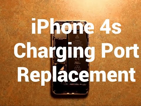 iPhone 4s Charging Port Replacement How To Change