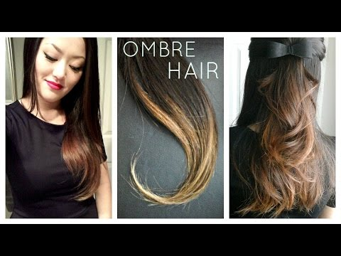 DIY: Ombre | Balayage Hair at home using Box Dye!