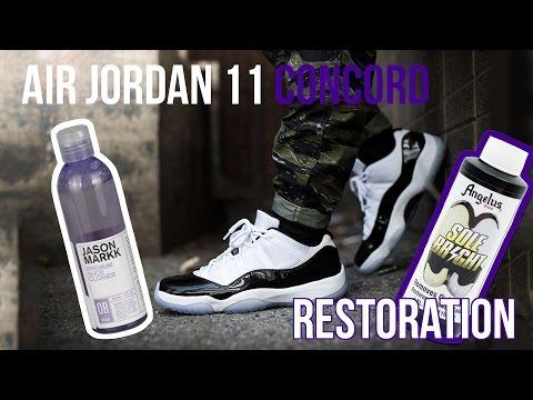 Air Jordan 11 'Concord' Restoration