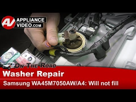 Samsung Washer -  Pressure Switch issues - Diagnostic & Repair
