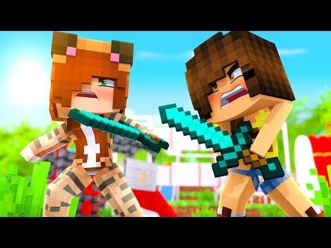 Minecraft Daycare - Tina VS Goldy ! (Minecraft Roleplay)
