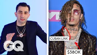 Jewelry Expert Critiques Rappers' Chains | Fine Points | GQ