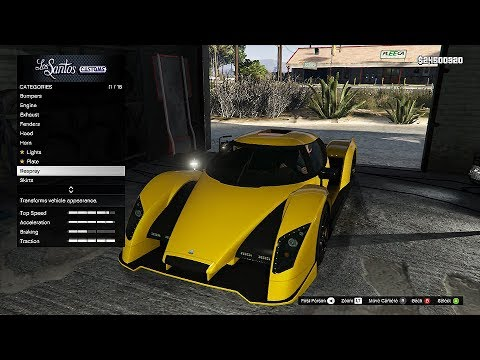 GTA 5 ONLINE DLC Overflod Autarch - UNRELEASED VEHICLES GAMEPLAY, CAR CUSTOMIZATION! (GTA 5 DLC)