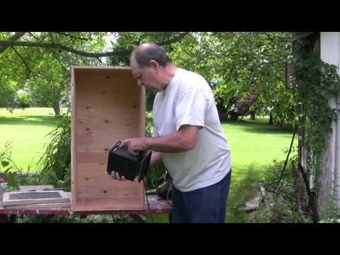 How to Build a Heater Drying or Dryer Box Dehydrator Dehumidifier for Plaster Castings (1 of 2)