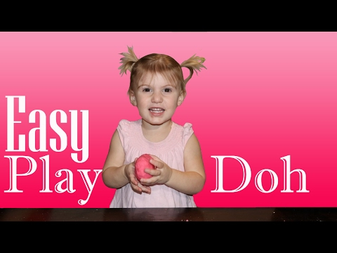 Easy homemade Play Doh!