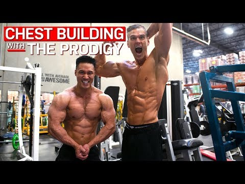 BUILD A BIGGER CHEST - Tips on building on a monster chest with Kyle