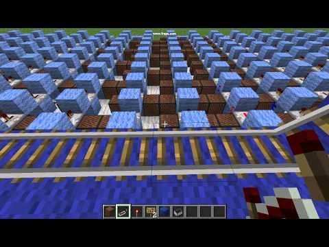 Minecraft NYAN cat note block music!