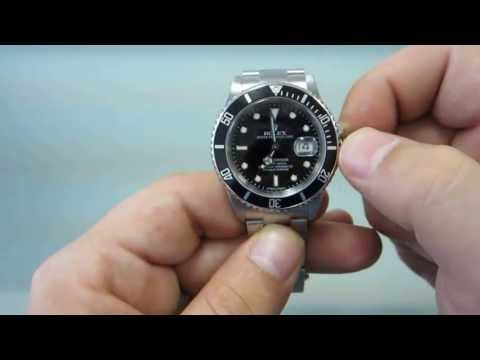 How to wind and set your Rolex Submariner GoldWatchCo