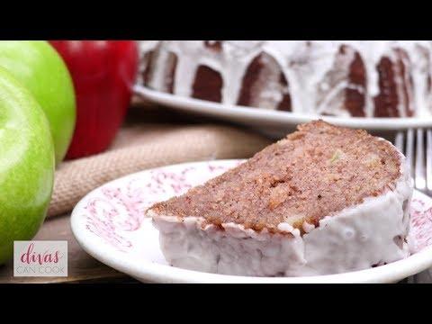 Old-Fashioned Glazed Apple Cake