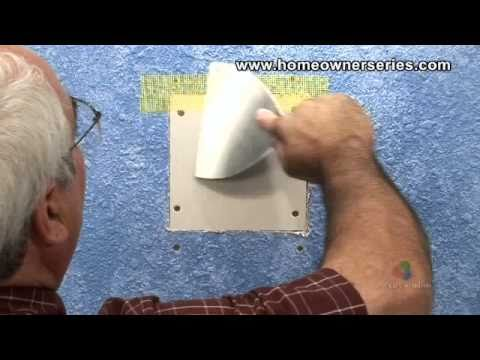 How to Fix a Wall - Lath Strip Patch - Drywall Repair - Part 2 of 2