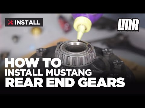 Mustang Rear End Gear Installation: Ford Racing 8.8 Ring & Pinion