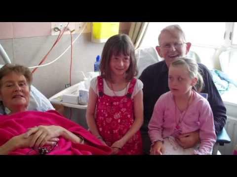 Xmas Day 2010 - Mum in Hospital