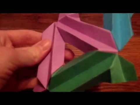 How to Make a Simple Origami Icosahedron Ball