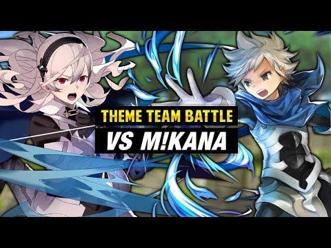 INFERNAL Kana Vs. Corrin & Fire Emblem Fates Units - Fire Emblem Heroes Theme Team Battle