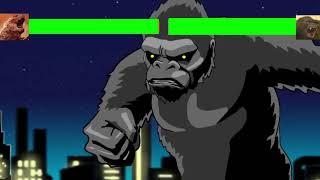 Godzilla Vs King Kong ....with Healthbars [HD]