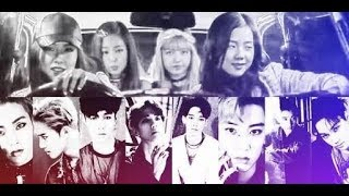 All about EXO & Blackpink Moments Part 7