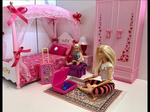 Barbie Bedroom Morning Routine with Chelsea!