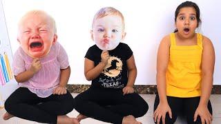 शैफा को बेबी डॉल मिली और उसने अपने माता-पिता होने का नाटक किया