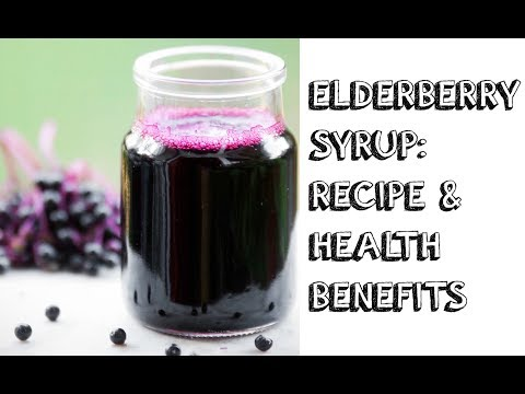 DIY ELDERBERRY SYRUP AND AMAZING HEALTH BENEFITS