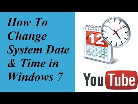 How to Set the Date and Time on Your Computer Windows 7