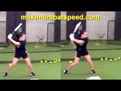 Sierra Romero-Amazing Hitting Mechanics Regardless Of Pitch