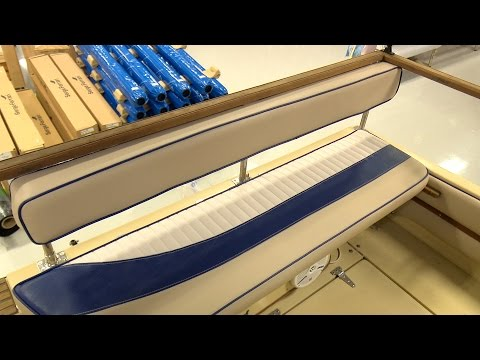 How to Make a Backrest for an Aft Bench Cushion on a Powerboat