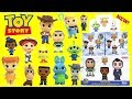 Disney TOY STORY 4 Funko Mystery Minis Unboxing With Woody Forky Buzz And More