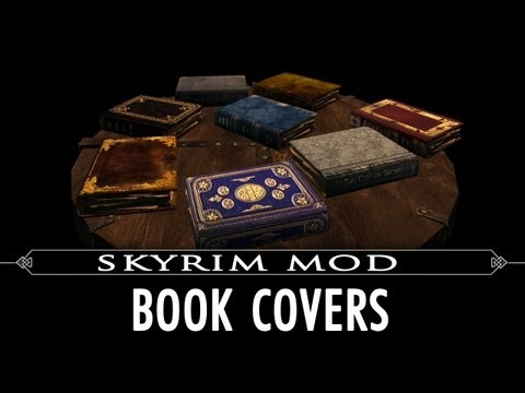 Skyrim Mod Feature: Book Covers Skyrim