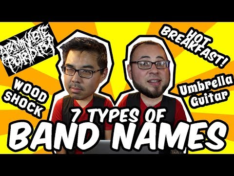 7 Types of Band Names | RKVC