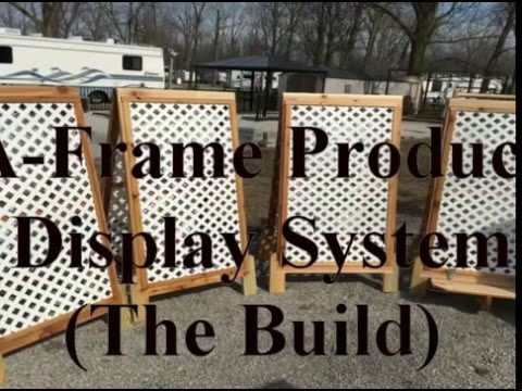 Building the A-Frame Display Panels