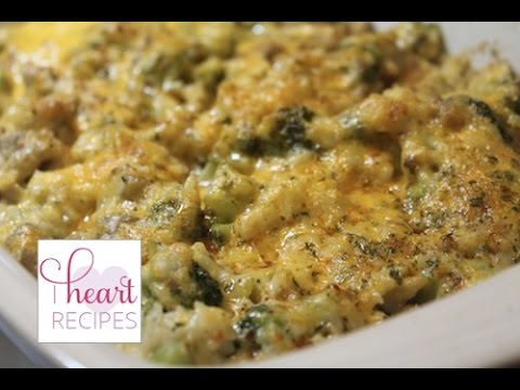 Cheesy Cheddar Broccoli Chicken and Rice | I Heart Recipes