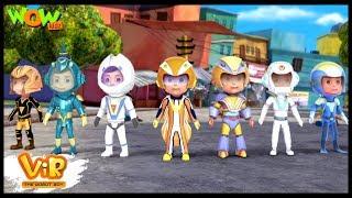 Vir vs Dangerous Seven Part 01 - Vir : The Robot Boy WITH ENGLISH, SPANISH & FRENCH SUBTITLES